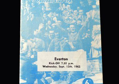Orient v Everton 12.09.1962
