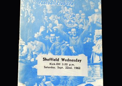 Orient v Sheff Wed 22.09.1962