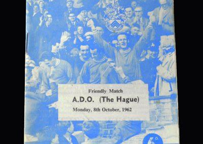 Orient v A.D.O (The Hague) 08.10.1962