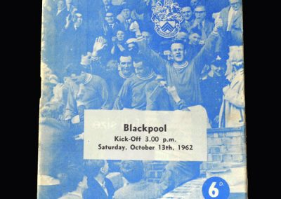 Orient v Blackpool 13.10.1962