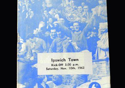 Orient v Ipswich 10.11.1962