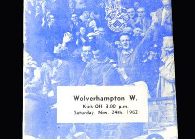 Orient v Wolves 24.11.1962