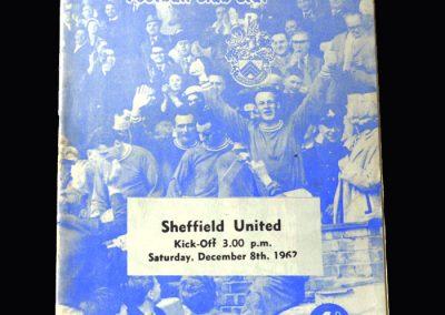 Orient v Sheff Utd 08.12.1962