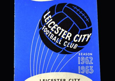 Orient v Leicester 26.12.1962