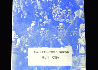 Orient v Hull 11.02.1963 (FA Cup 3rd Round)