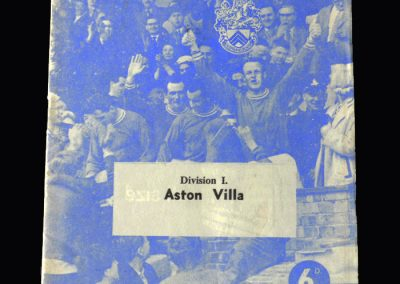 Orient v Aston Villa 09.03.1963
