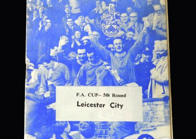 Orient v Leicester 16.03.1963 (FA Cup 5th Round)