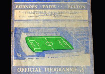 Orient v Bolton 15.04.1963