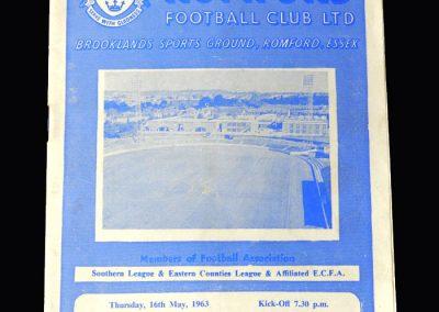 Orient v Romford 16.05.1963