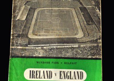 Ireland v England 04.10.1952