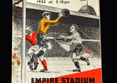 England v Belgium 26.11.1952