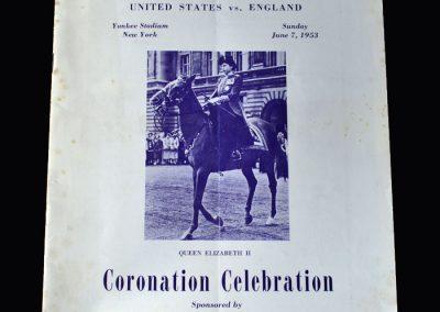 England v USA 08.06.1953