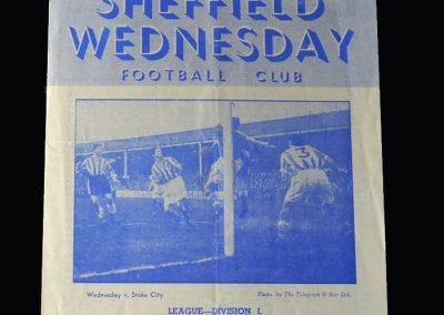 Arsenal v Sheff Wed 02.03.1953