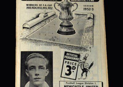 Arsenal v Newcastle 14.03.1953