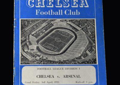 Arsenal v Chelsea 03.04.1953