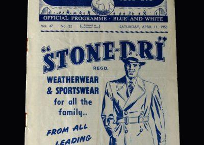 Arsenal v Man City 11.04.1953