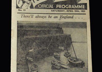 Arsenal v Preston 25.04.1953