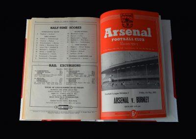 Arsenal v Burnley 01.05.1953