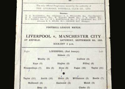 Liverpool v Man City 09.09.1944 (Cyril Done leg break)