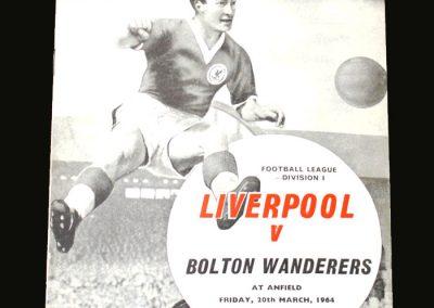 Liverpool v Bolton 20.03.1964