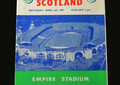 England v Scotland 06.04.1957