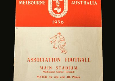 Bulgaria v India 07.12.1956 (3rd & 4th place play off)