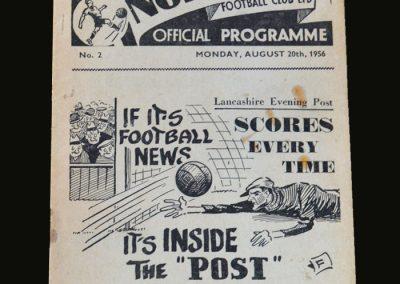 Man Utd v Preston 20.08.1956