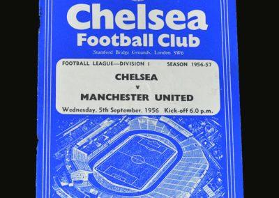 Man Utd v Chelsea 05.09.1956