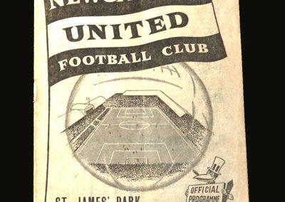 Man Utd v Newcastle 08.09.1956