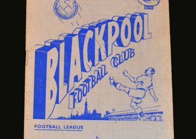 Man Utd v Blackpool 27.10.1956