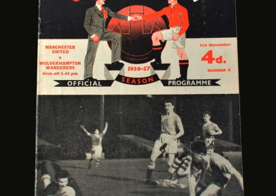 Man Utd v Wolves 03.11.1956