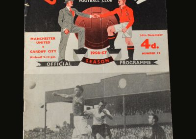 Man Utd v Cardiff 26.12.1956