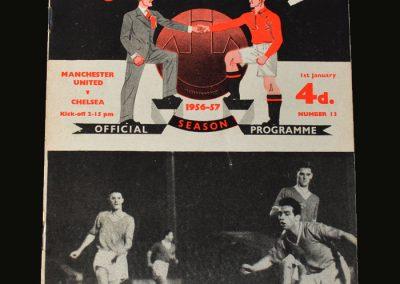 Man Utd v Chelsea 01.01.1957
