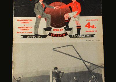 Man Utd v Newcastle 12.01.1957