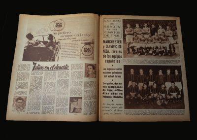 Man Utd v Athletico Bilbao 16.01.1957 (European Cup Quarter Final 1st Leg)