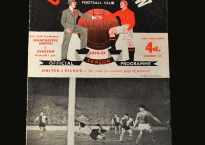 Man Utd v Everton 16.02.1957 (FA Cup 5th Round)
