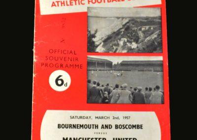 Man Utd v Bournemouth 02.03.1957 (FA Cup 6th Round)