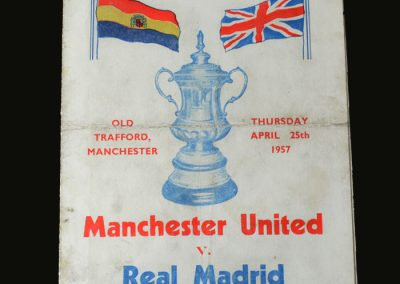 Man Utd v Real Madrid 11.04.1957 (European Cup Semi Final 1st Leg)