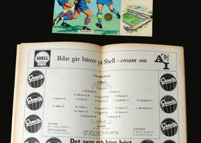 Sweden v USSR 19.06.1958 (Quaker Final)