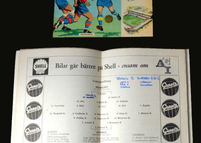 Brazil v Sweden 29.06.1958 (Final)