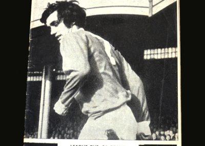 Derby v Man Utd 12.11.1969 (League Cup 5th Round)