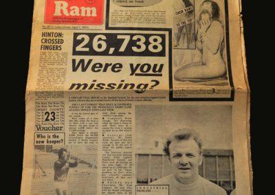 Derby v Leeds 01.04.1972 (Crucial Win)