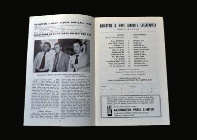 Brighton v Chesterfield 17.11.1973
