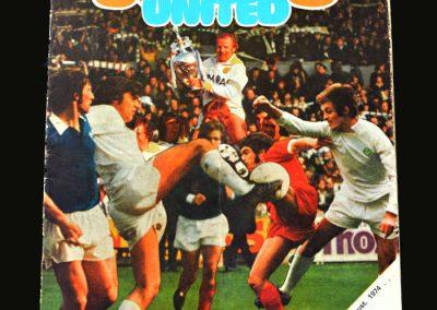 Leeds v QPR 21.08.1974 (Home Debut)