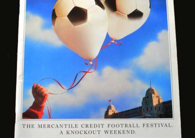 Mercantile Cup Tournament Brochure 16/17.04.1988