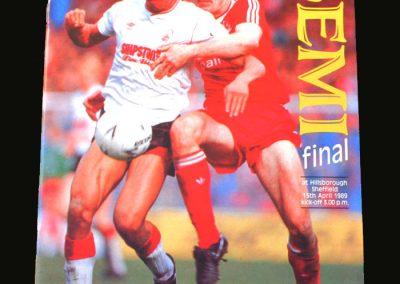 Forest v Liverpool 15.04.1989 (FA Cup Semi Final - Hillsborough)