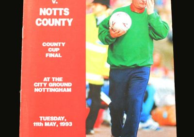 Forest v Notts County 11.05.1993 (Last game)
