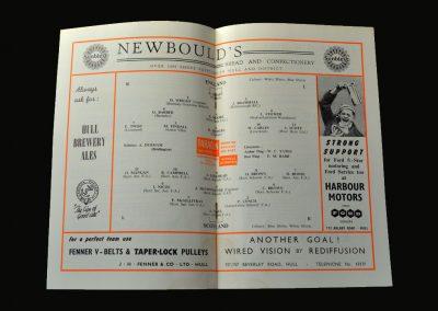 England v Scotland 01.03.1958 (Youth)