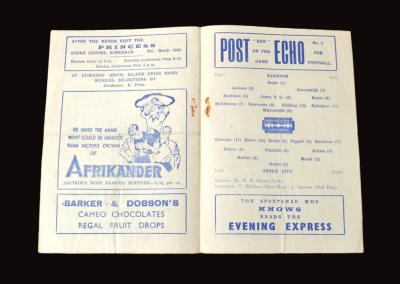 Everton v Stoke 29.03.1947