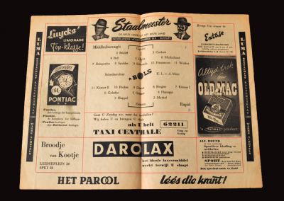 Middlesbrough v Rapid 21.05.1953 (In Amsterdam)